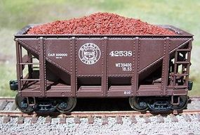 Motrak Resin Ore Loads for Walthers Michigan Ore Car (2) HO Scale Model Train Freight Car Load #81716