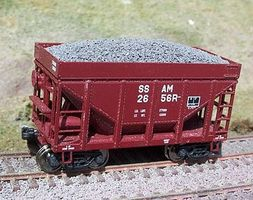 Motrak Resin Taconite Loads for Walthers Michigan Car HO Scale Model Train Freight Car Load #81717
