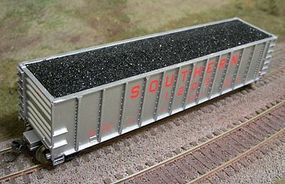 Motrak Coal Loads for Walthers 50' Coal Gondola (2) HO Scale Model Train Freight Car Load #81720