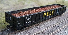 Motrak Scrap Metal Load for LBF/IRC 52' Mill Gondola HO Scale Model Train Freight Car Load #81803