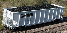 Motrak Resin Coal Loads for BLMA TopGon Hopper (2-Pack) HO Scale Model Train Freight Car Load #81901