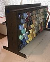 Motrak Large Acrylic Paint Rack