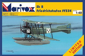 Marivox 1/48 Sk2 Friedrichshafen FF33E WWI German BiPlane Fighter