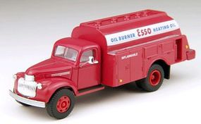 Classic-Metal-Works 1941-1946 Chevrolet Tank Truck Esso Heating Oil HO Scale Model Railroad Vehicle #30277