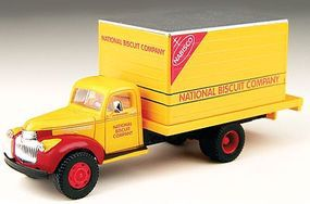 Classic-Metal-Works 1941-1946 Chevrolet Box Delivery Truck Nabisco HO Scale Model Railroad Vehicle #30299