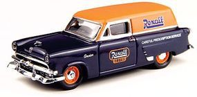 Classic-Metal-Works 1953 Ford Courier Sedan Delivery Station Wagon Rexall HO Scale Model Railroad Vehicle #30306