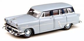 Classic-Metal-Works 1953 Ford Customline Station Wagon Glacier Blue HO Scale Model Railroad Vehicle #30308
