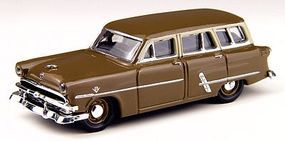 Classic-Metal-Works 1953 Ford Customline Station Wagon Polynesian Bronze HO Scale Model Railroad Vehicle #30311