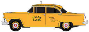 Classic-Metal-Works Ford Mainline Taxi Cab HO Scale Model Railroad Vehicle #30397
