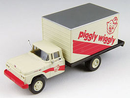Classic-Metal-Works F-500 Delivery Truck Piggly Wiggly HO Scale Model Railroad Vehicle #30452