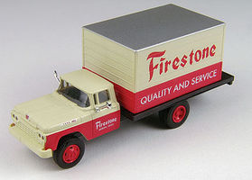 Classic-Metal-Works F-500 Delivery Truck Firestone HO Scale Model Railroad Vehicle #30454