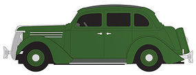 Classic-Metal-Works 1936 Ford Sedan Green HO Scale Model Railroad Vehicle #30469