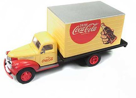 Classic-Metal-Works HO 1941-1946 Chevy Box Truck, Coca Cola