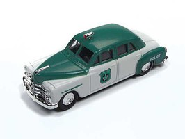 Classic-Metal-Works HO 1950 Dodge Police Car