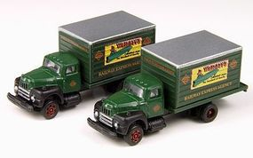Classic-Metal-Works Intl Harvester R190 Delivery Truck Railway Express N Scale Model Railroad Vehicle #50337