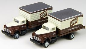 Classic-Metal-Works 1953 Intl Harvester R190 Delivery Truck Schlitz Beer N Scale Model Railroad Vehicle #50338