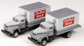 Classic-Metal-Works 1953 Intl Harvester R190 Delivery Truck Sealtest Milk N Scale Model Railroad Vehicle #50339