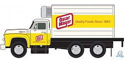 Classic-Metal-Works Box Truck Oscar Meyer (2) N Scale Model Railroad Vehicle #50358
