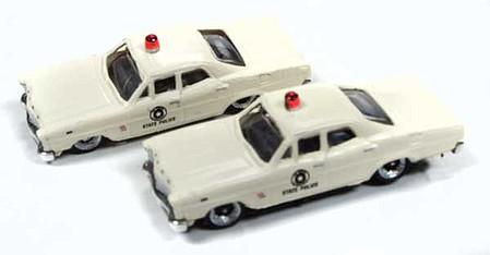 Classic-Metal-Works N 1967 Ford State Police Car (2)
