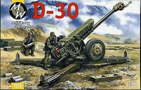 Military-Wheels-Mode 1/72 D30 122mm Soviet Howitzer