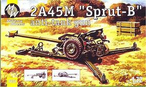 Military-Wheels-Mode 1/72 2A45M Sprut-B Anti-Tank Gun