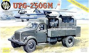 Military-Wheels-Mode UPG250GM Soviet Airfield Military Testing Truck Plastic Model Military Vehicle 1/72 #7235