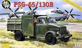 Military-Wheels-Mode PSG65/130B Aircraft Refueling Truck Plastic Model Military Vehicle Kit 1/72 Scale #7238