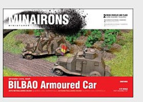 Minairons 1/72 Spanish Civil War- Bilbao Armored Car (2) (Resin)