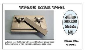 Mirror Track Link Tool for Plastic & Resin Single Track Links Plastic Model Tank Track Link #1001