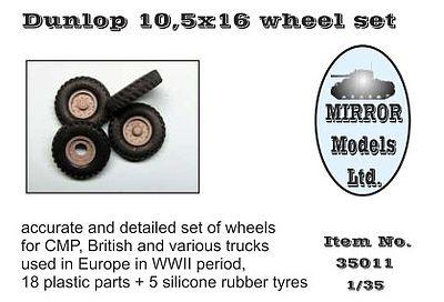 MIRROR MODELS 35015 Good Year 9,5x16 Wheel Set in 1:35