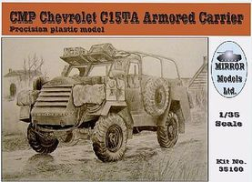 Mirror CMP C15TA Armored Carrier Truck Plastic Model Military Vehicle 1/35 Scale #35100