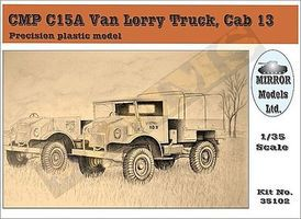 Mirror CMP C15A Cab 13 Van Lorry Truck Plastic Model Military Vehicle 1/35 Scale #35102