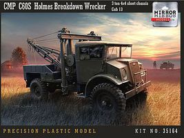 Mirror CMP C60S Holmes Breakdown Wreacker Plastic Model Military Vehicle 1/35 Scale #35164