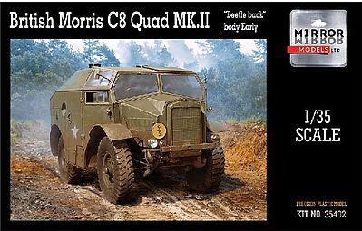 Mirror Models #35401 1//35  WWII British Morris C8 Quad Mk III Beetle