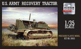 Mirror US Army Military Recovery Tractor Plastic Model Military Vehicle 1/35 Scale #35853