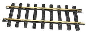 New-Bright (bulk of 6) Brass Track Straight - G-Scale