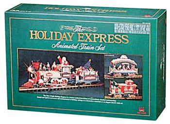 New Bright Holiday Express Train Set - G-Scale