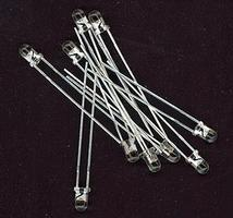 NCE LED Pack 3mm Golden Glow (10) Model Railroad Electrical Accessory #218