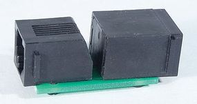 NCE 8 Wire Adapter RJ12 to RJ45 Model Railroad Electrical Accessory #235