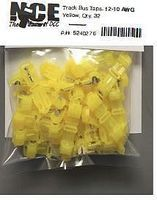 NCE Track Bus Taps Yellow (32) Model Railroad Electrical Accessory #276
