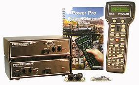NCE PH-10 10 Amp Starter Set with D408 Decoder Model Railroad Power Supply #6
