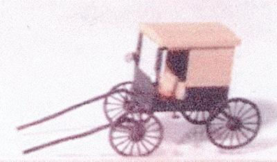 Neal's N-Gauging Trains Amish buggy - Z-Scale