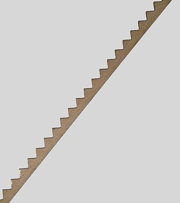 NE-Scale-Lumber Stair Stringer HO Scale Model Railroad Scratch Supply #6040