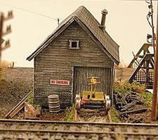 NE-Scale-Models STS Motor Car Shed N - N-Scale
