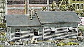 NE-Scale-Models Yard Storage N Scale Model Railroad Building Kit #30008