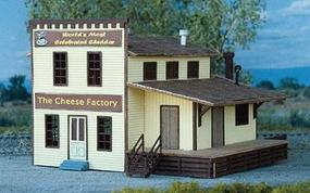 NE-Scale-Models The Cheese Factory N Scale Model Railroad Building Kit #30027