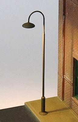 Ngineering 18 Curved-Neck Streetlight Kit (8-Pack) HO Scale Model Railroad Streetlight #nk014