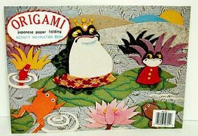 Niji Origami Japanese Paper Folding Activity Book (D)