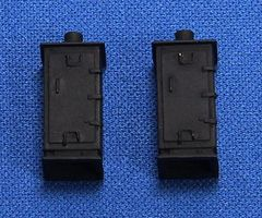 NJ Relay Cabinet - Tall, black (2) HO Scale Model Railroad Trackside Accessory #1340