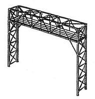 NJ Two-Track Signal Bridge Kit Black - HO-Scale